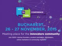 How to Web Conference 2015. Peste 1.000 de profesionisti din tehnologie se intalnesc la Bucuresti