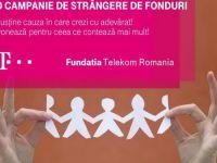 (P) Fundatia Telekom Romania lanseaza campania de strangere de fonduri  Impreuna pentru romani