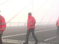 Noul pod de la Agigea, de peste Canalul Dunare-Marea Neagra, a fost deschis circulatiei