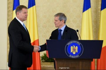 Dacian Ciolos, premierul desemnat de presedintele Iohannis: Voi face tot ce imi sta in putinta pentru a ma ridica la inaltimea increderii acordate