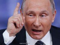 Putin: Evreii care se simt in nesiguranta in Europa sunt bineveniti in Rusia