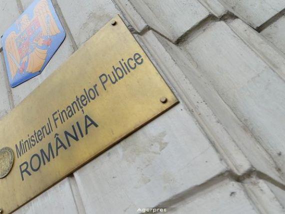 Finantele au imprumutat miercuri 500 mil. euro de la banci pe cinci ani la un randament mediu de 1% pe an