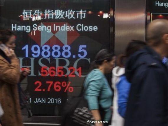 Degringolada pe pietele bursiere si valutare in statele emergente din cauza Chinei