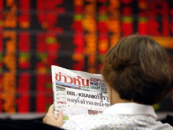 Bursa din China, tot in picaj. La Shanghai sedinta de vineri s-a inchis in scadere cu 3,5%