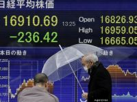 Bursa japoneza a inchis in scadere, cea de la Shanghai, pe crestere