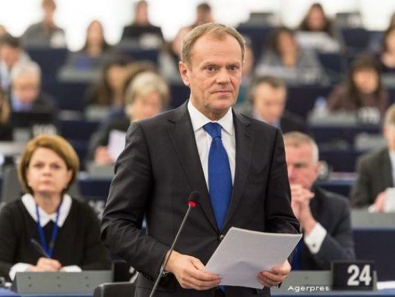 Tusk: Daca UE nu stapaneste in cel mult doua luni criza migratiei, spatiul Schengen se va prabusi