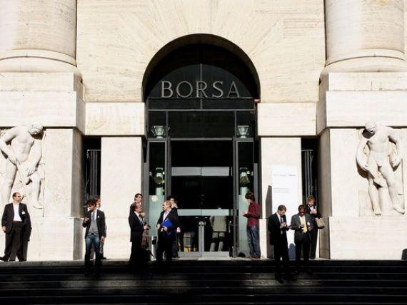 Degringolada bancilor italiene pe bursa continua. Seful Intesa exclude preluarea Monte Paschi sau a oricarei alte banci din Italia