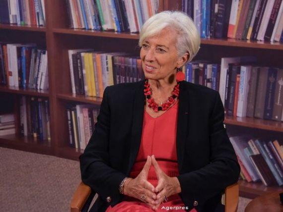Este oficial. Christine Lagarde candideaza pentru un nou mandat in fruntea FMI