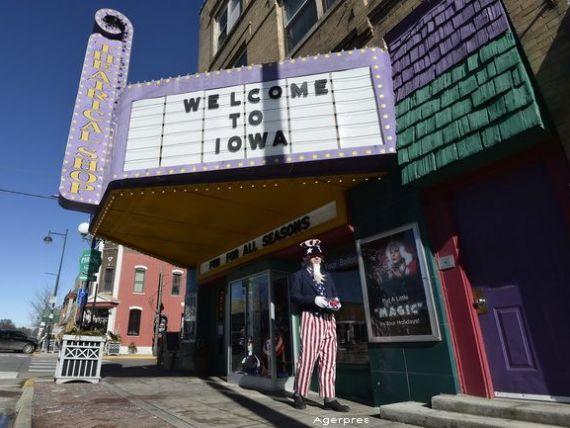 Noapte decisiva pentru candidatii la presedintia SUA. Iowa, primul stat care isi exprima preferinta in vot