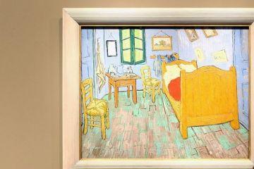La un muzeu din Chicago se poate dormi cu 10 dolari pe noapte in celebra Camera lui Van Gogh din Arles