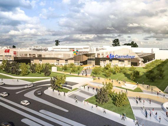 Proiectul mall-ului Veranda din zona Obor a atras o finantare de 25,5 mil. euro. Investitia totala, 60 mil. euro