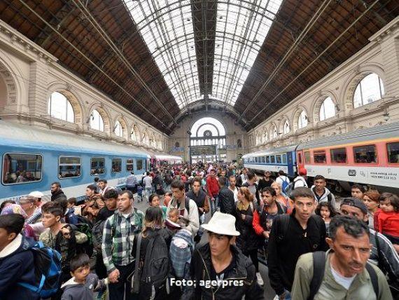 Record de solicitanti de azil in Europa, in 2015. Sirienii prefera Germania, iar afganii, Ungaria si Suedia. Cati straini au cerut sa vina in Romania