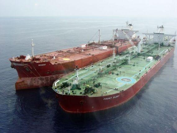 Iranul isi exporta zacamintele in Europa. Primul petrolier cu titei a ajuns in Spania. In Romania, un milion de barili vor merge la rafinaria Petrotel