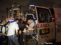 Roman, ranit intr-un atentat la Tel Aviv