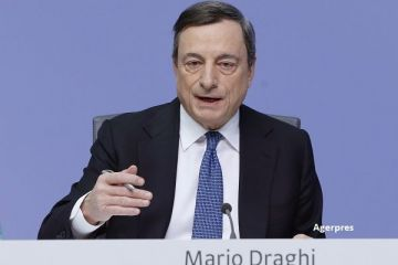 BCE obtine rezultate, la un an dupa ce a pornit tiparnita de bani. Inflatia in zona euro a revenit pe teritoriu pozitiv