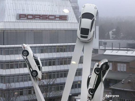 Profit record pentru Porsche, anul trecut, datorat succesului inregistrat de SUV-ul compact Macan