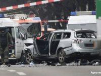 O bomba a explodat intr-o masina, in centrul Berlinului