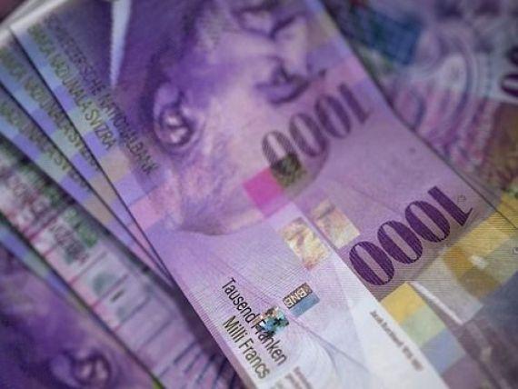 Banca Elveţiei se aşteaptă la cel mai ridicat profit din istoria instituţiei. În 2017, francul a înregistrat cel mai mare declin față de euro, de la apariția monedei unice