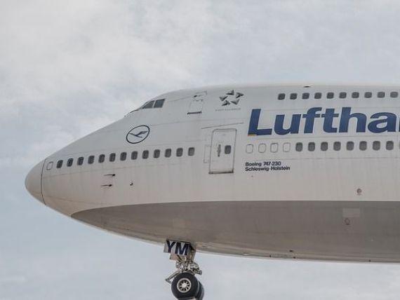 Profit spectaculos pentru Lufthansa in 2015, in ciuda numeroaselor greve si a prabusirii intentionate a avionului Germanwings
