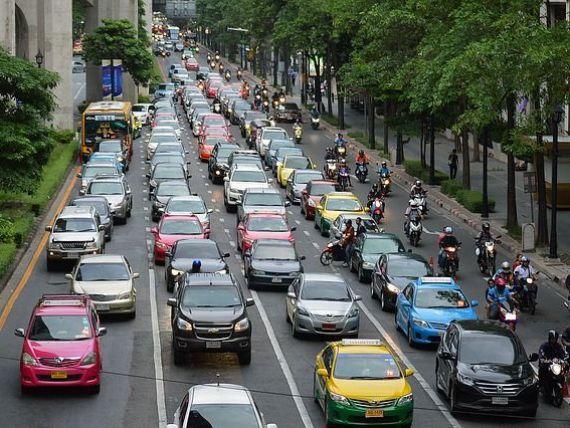 Capitala Romaniei, la concurenta cu Moscova si Los Angeles. Bucurestiul, pe locul 6 in topul celor mai mari blocaje in trafic