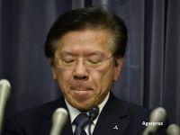 Presedintele Mitsubishi a demisionat, in urma scandalului legat de falsificarea consumului de combustibil