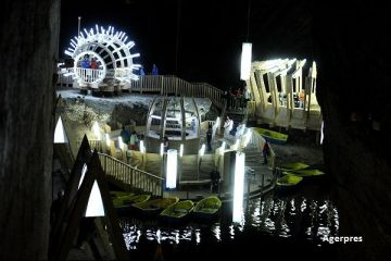 Salina Turda si-a deschis propria unitate de cazare, printr-o investitie de 1 milion de lei. 1 din 3 turisti care viziteaza obiectivul turistic este strain