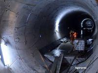 Lucrarile la noua statie de metrou de la Eroilor s-au dus pe apa sambetei. Toate galeriile au fost inundate de panza freatica