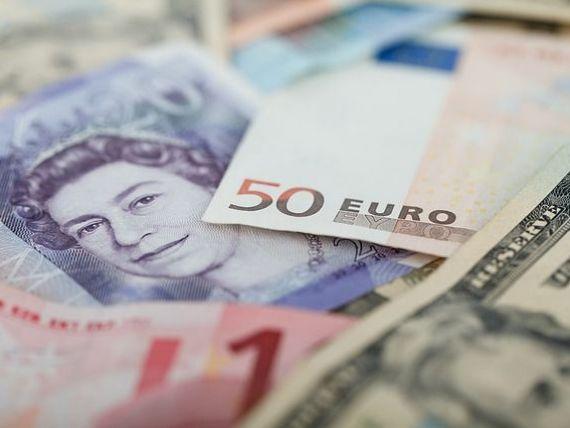 Lira sterlina s-a prabusit, vineri, in raport cu euro si dolarul. Banca Angliei investigheaza  modul misteriors  prin care moneda a pierdut 6% din valoare in cateva minute