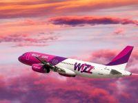 Wizz Air ofera, miercuri, reduceri de 20% pe toate rutele, pentru rezervarile facute pana la miezul noptii