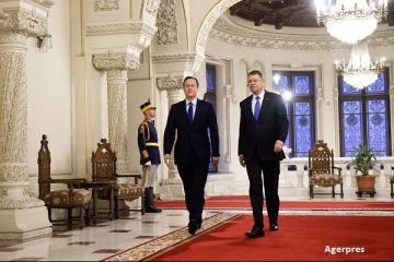 Presedintele Klaus Iohannis a discutat cu David Cameron despre situatia romanilor din Marea Britanie. Ce s-ar putea intampla cu spatiul Schengen
