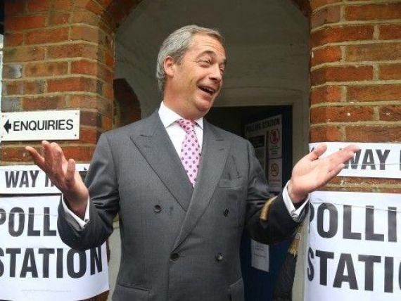 Nigel Farage, de la care a plecat organizarea referendumului pentru Brexit, se va întâlni cu negociatorul-şef al UE, Michel Barnier, nemulțumit de cum decurge  divorțul