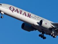 Un avion Qatar Airways a aterizat de urgenta la Istanbul, dupa ce un motor a luat foc in aer