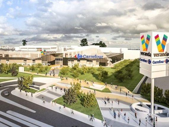 Centrul comercial Veranda Mall anunță investiții de 10 mil. euro în extindere, în special în spații de divertisment