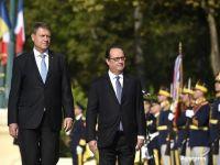 Prima vizita de stat a unui presedinte francez in Romania, dupa 1991. Hollande:  Companiile franceze contribuie la dezvoltarea economica a Romaniei in sectoare de varf