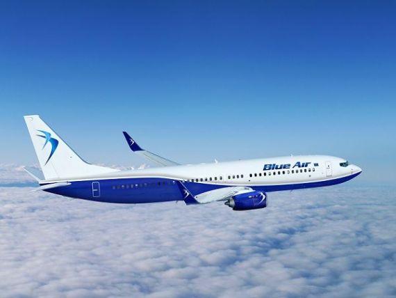 Blue Air lanseaza, din vara, sase rute noi. Spre ce destinatii zboara operatorul low-cost in 2017