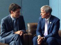 """Dacian Ciolos a discutat, la New York, cu premierul Canadei despre ridicarea vizelor. Surse: """"Exista perspective bune pentru ca vizele sa fie ridicate intr-un viitor apropiat"""""""