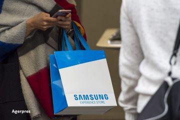 Samsung anunta profit dublu in T4, fata de perioada similara a anului anterior, in ciuda scandalului declansat de explozia bateriilor Galaxy Note 7
