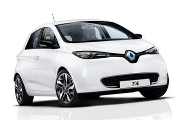 Renault a prezentat o varianta imbunatatita a modelului electric Zoe. Autonomia creste de la 240 la 400 km/incarcare