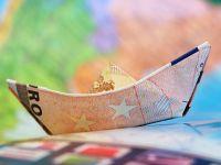 Euro scade la cursul BNR, dar se mentine peste 4,5 lei