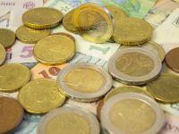 Euro scade sub 4,5 lei