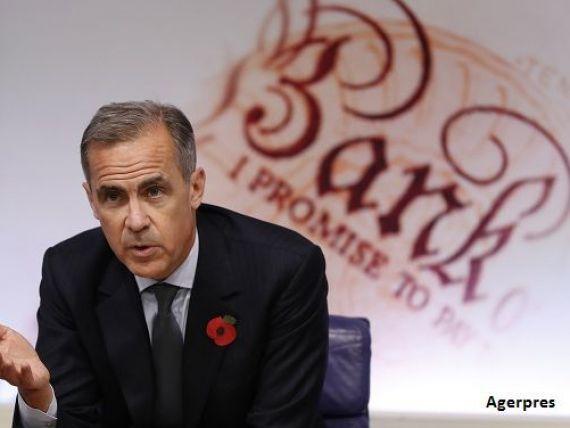 Banca Angliei a imbunatatit prognozele de crestere economica si de inflatie pentru 2017 si a renuntat la intentia de a reduce dobanda cheie