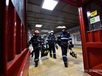 ISU Bucuresti face controale simultane in toate statiile de metrou din Capitala. Pompierii verifica iesirile de incendiu