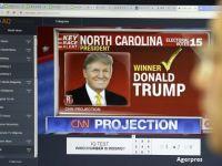 REZULTATE ALEGERI SUA. Estimari: Trump a obtinut votul a 276 de electori. AP:  Donald Trump a fost ales presedintele SUA