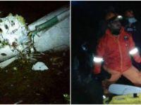 Avion cu 81 de pasageri, printre care si o echipa de fotbal, prabusit in Columbia. Doar 5 persoane au supravietuit