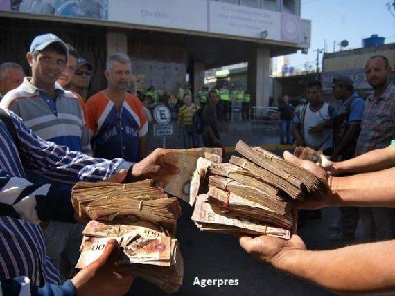 Tara in care banii nu mai valoreaza nimic si populatia sparge magazine pentru mancare. Venezuela, in pragul celei mai severe crize economice si umanitare