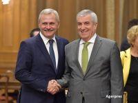 Liviu Dragnea si Calin Popescu Tariceanu, sefi la Camera si Senat