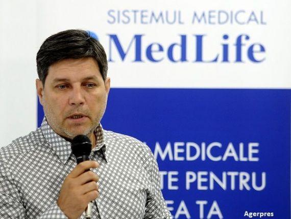 Lantul de clinici private MedLife anunta pierderi de 1,66 mil. lei, anul trecut
