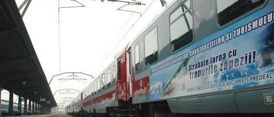 CFR ieftineste cu pana la 56% biletele la  Trenurile Zapezii , care merg pe Valea Prahovei, la Vatra Dornei, Petrosani si Piatra Neamt
