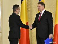 Cei 26 de ministri au depus juramantul la Cotroceni. Iohannis, catre Dragnea:  Va rog sa-i invatati si pe ei programul de guvernare