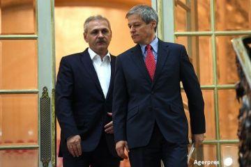 Dragnea acuza fostul Guvern de  o gaura  de 10 mld. lei la buget. Ciolos: PSD isi acopera  nerealizarile si promisiunile mincinoase cu diversiuni si propaganda
